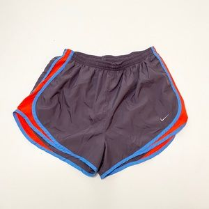 Nike Gray/Red Tempo Running Short Size Large
